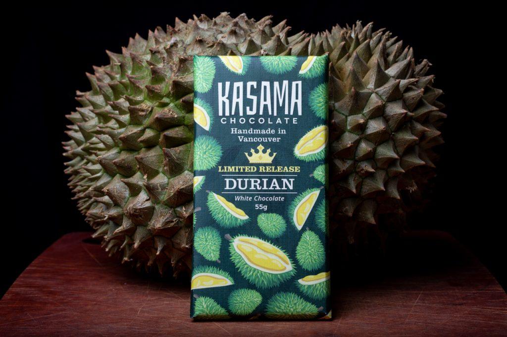 Bean-to-bar Durian White Chocolate Bar