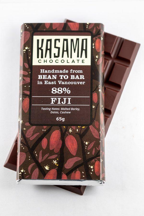 88% Fiji bean-to-bar chocolate