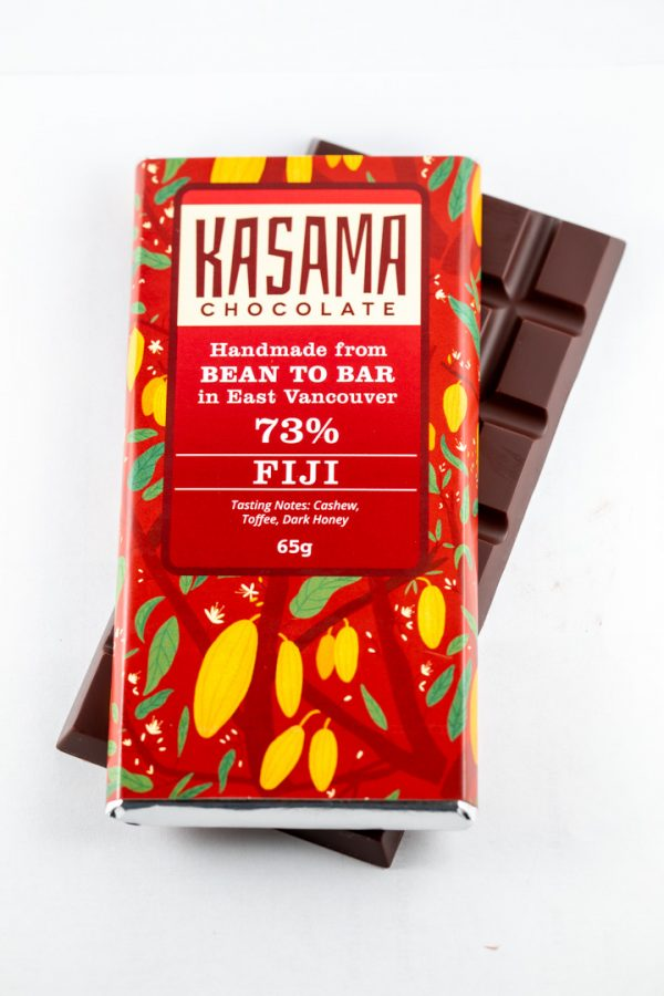 73% Fiji bean-to-bar chocolate