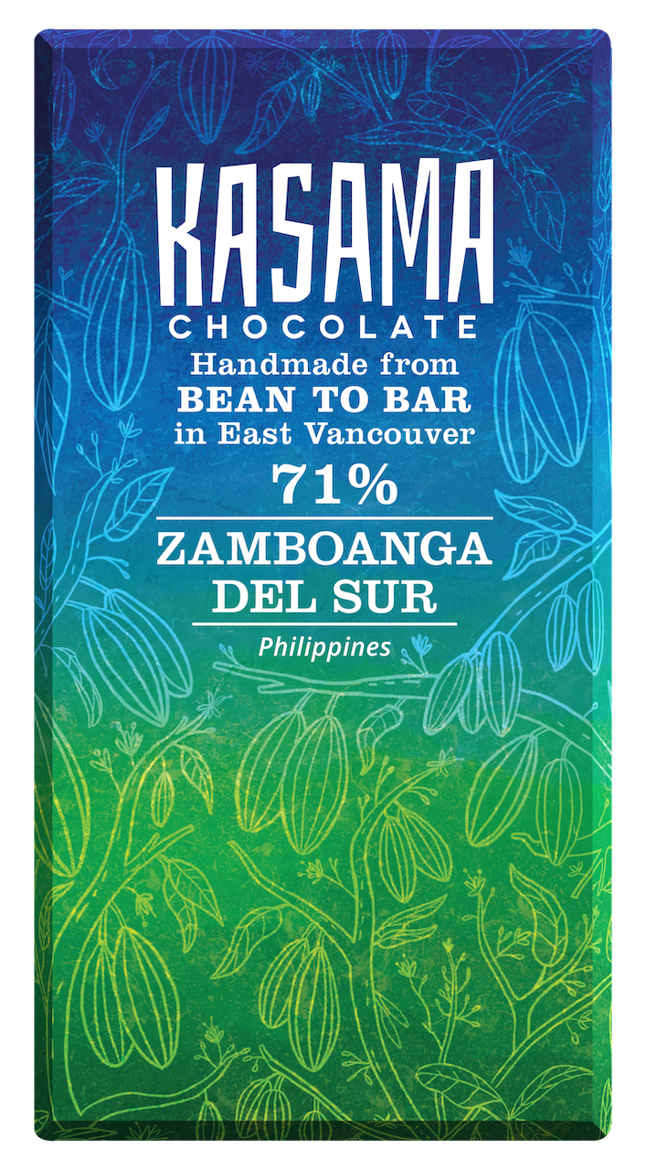 71% Philippines bean-to-bar chocolate