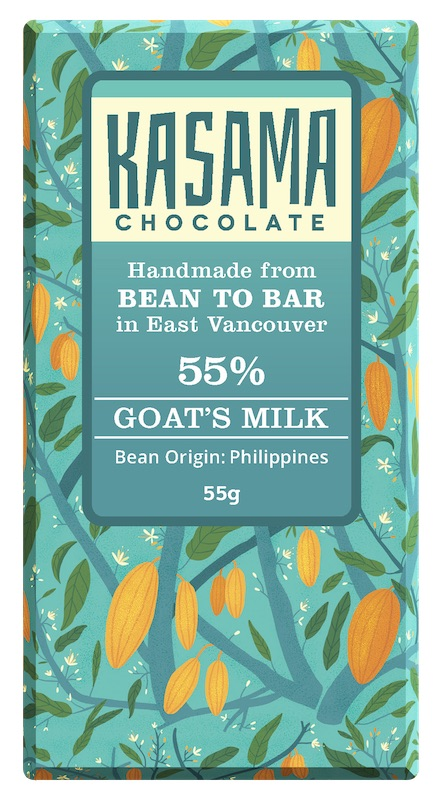 Bean-to-bar goat's milk and Philippine cacao