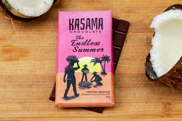 bean-to-bar Philippine coconut Cacao chocolate bar
