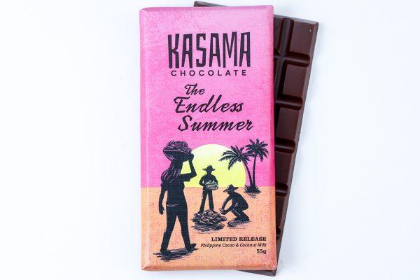 bean-to-bar Philippine coconut Cacao chocolate bar