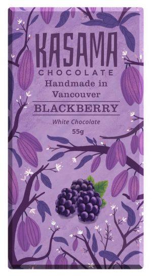 Blackberry bean-to-bar White Chocolate