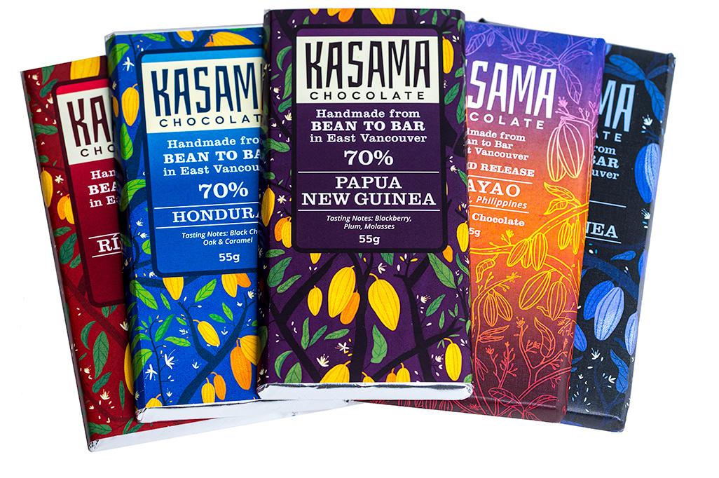 Kasama Chocolate Bars