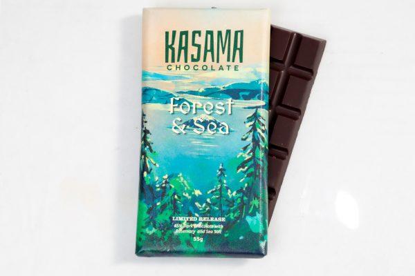 Rosemary and Sea Salt bean-to-bar dark chocolate
