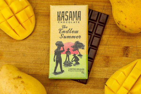 bean-to-bar Philippine mango cacao chocolate bar