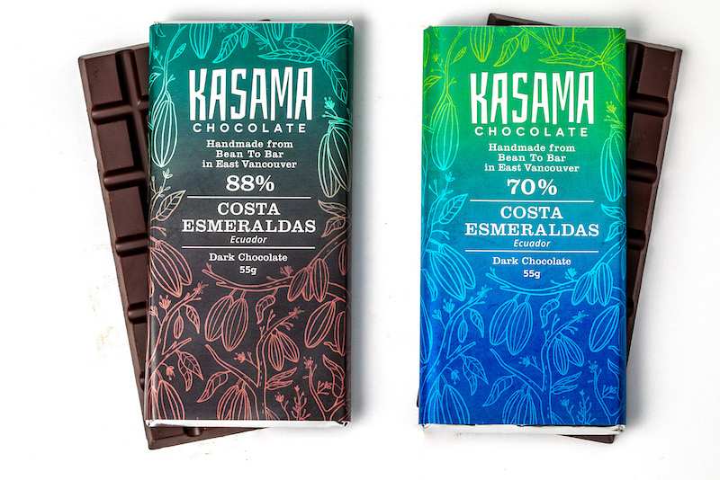Costa Esmeraldas bean-to-bar chocolate bar