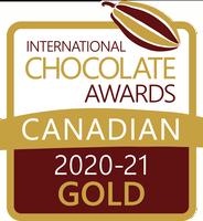 International Chocolate Awards Gold Canada