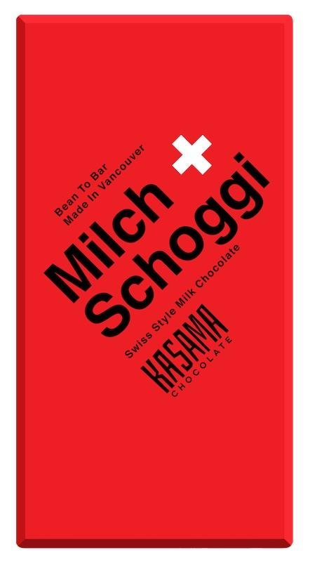 Milch Schoggi bean-to-bar milk chocolate
