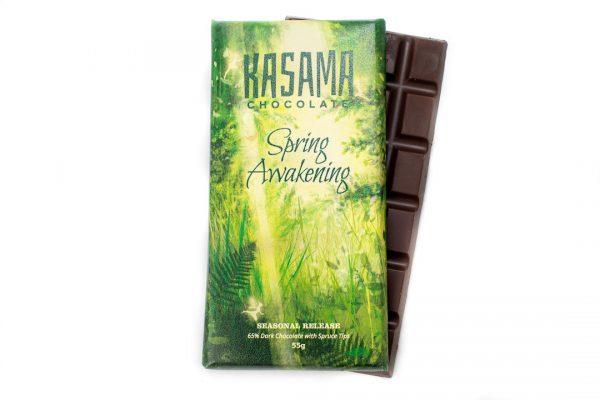 Spruce Tip bean-to-bar dark chocolate