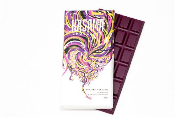 Ube Pineapple White Chocolate Bar