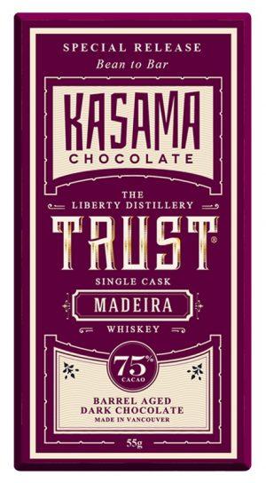 Madeira Whiskey Bean to Bar chocolate bar